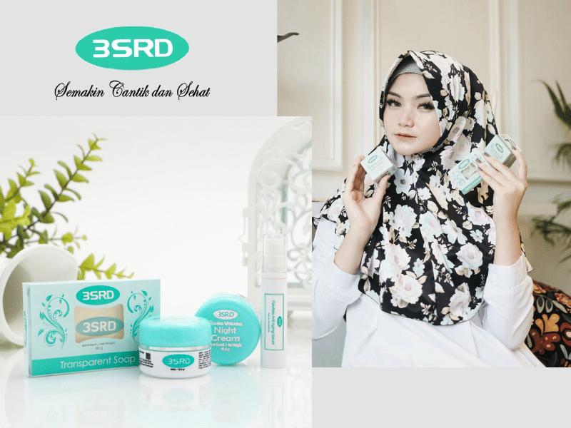 cream 3SRD merupakan cream lokan untuk mencerahkan wajah